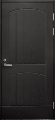 Входная финская дверь JELD-WEN F2000 темно-серая