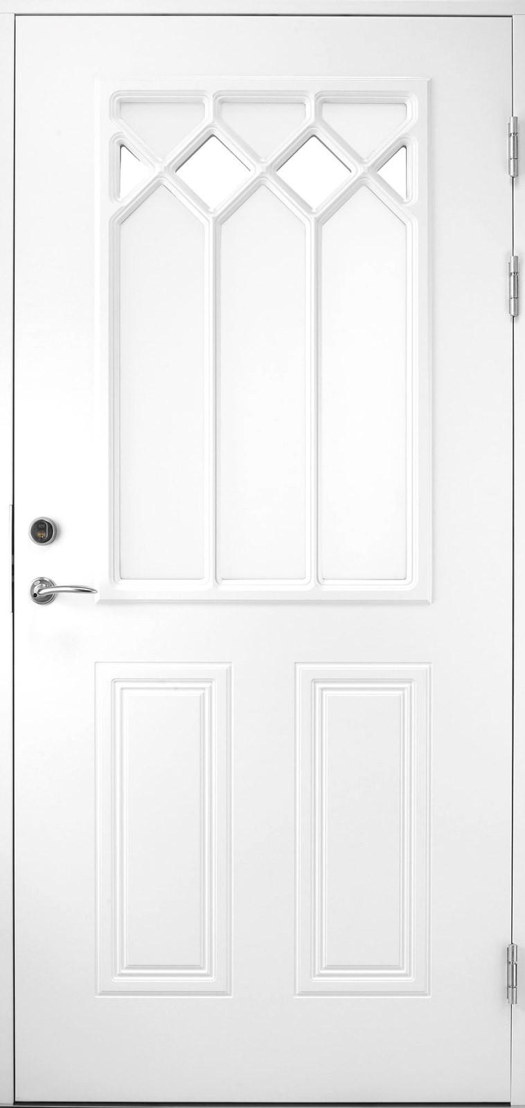 Входная финская дверь JELD-WEN Classic 1881 W48 белая