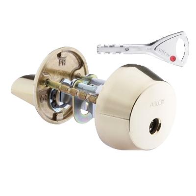 Цилиндр ABLOY Protec 2 CY001T латунь полированная